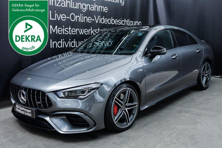 MercedesBenz_CLA45s_Silbergrau_schwarz_MB-5002_Plakette_w