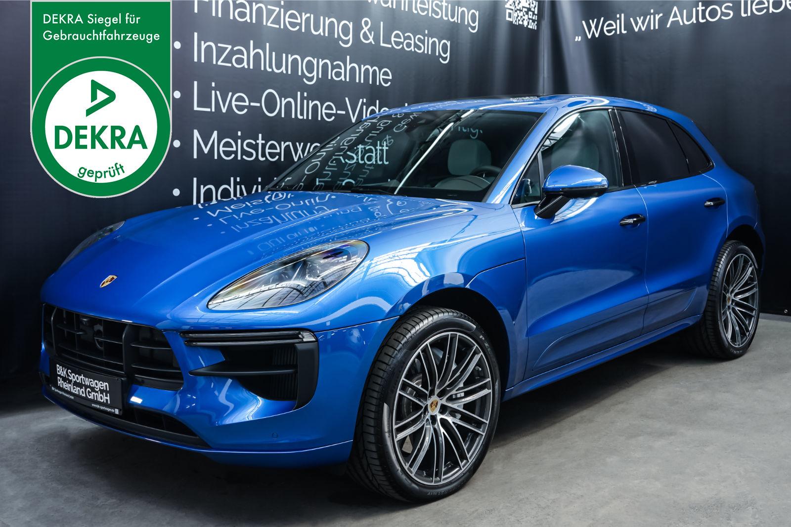 Porsche_Macan_Turbo_Blau_Weiß_POR-2038_Plakette_w