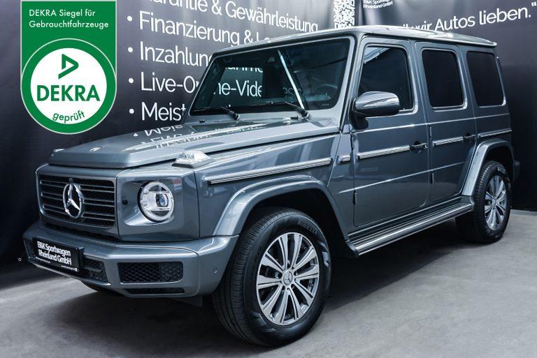 MercedesBenz_G500_SilberGrau_Schwatz_MB-4151_Plakette_w