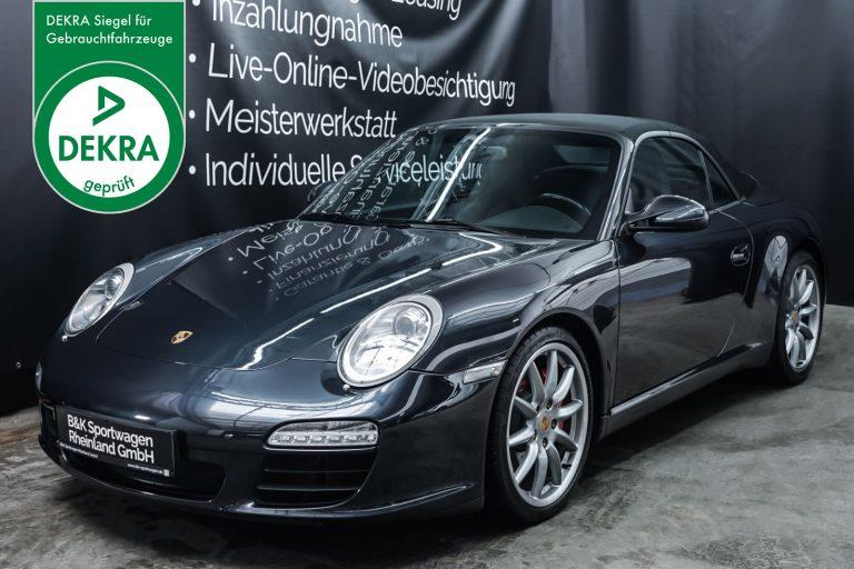 Porsche_997_C2S_Cabrio_Grau_Schwarz_POR-5297_Plakette_w