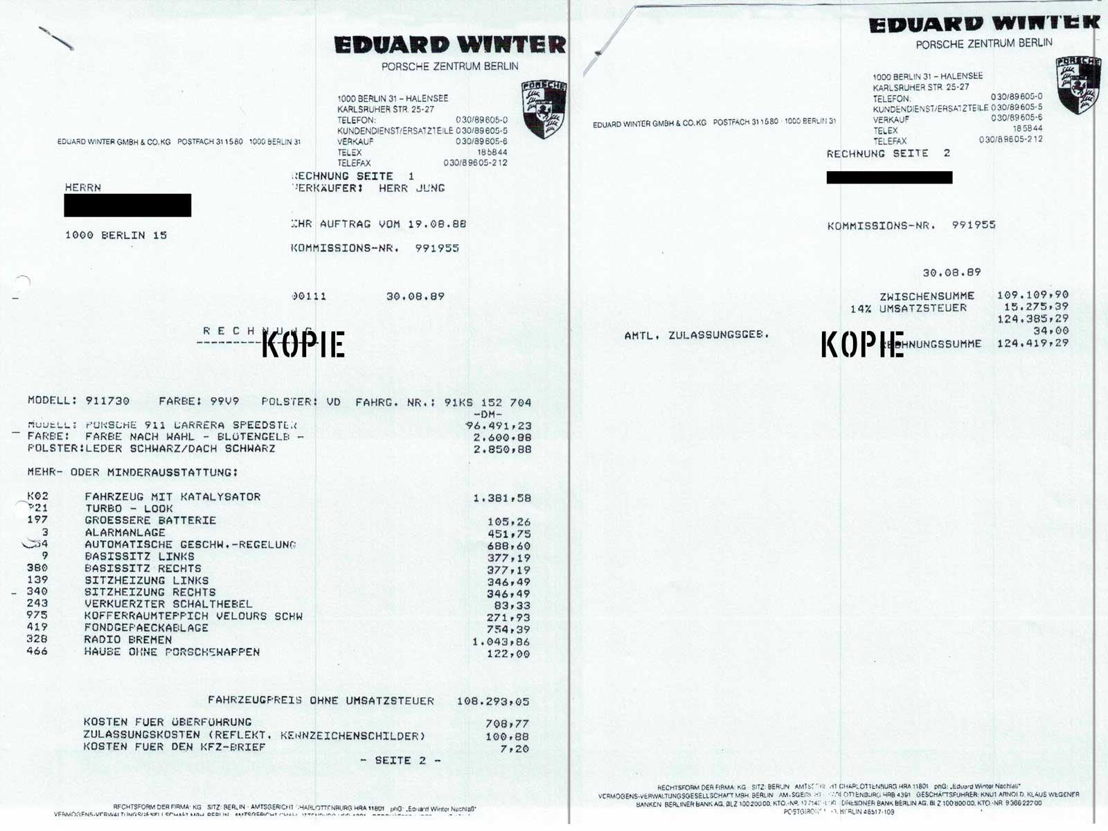 Porsche-911-Speedster---Neufahrzeugrechnung-bk_sportwagen_duesseldorf