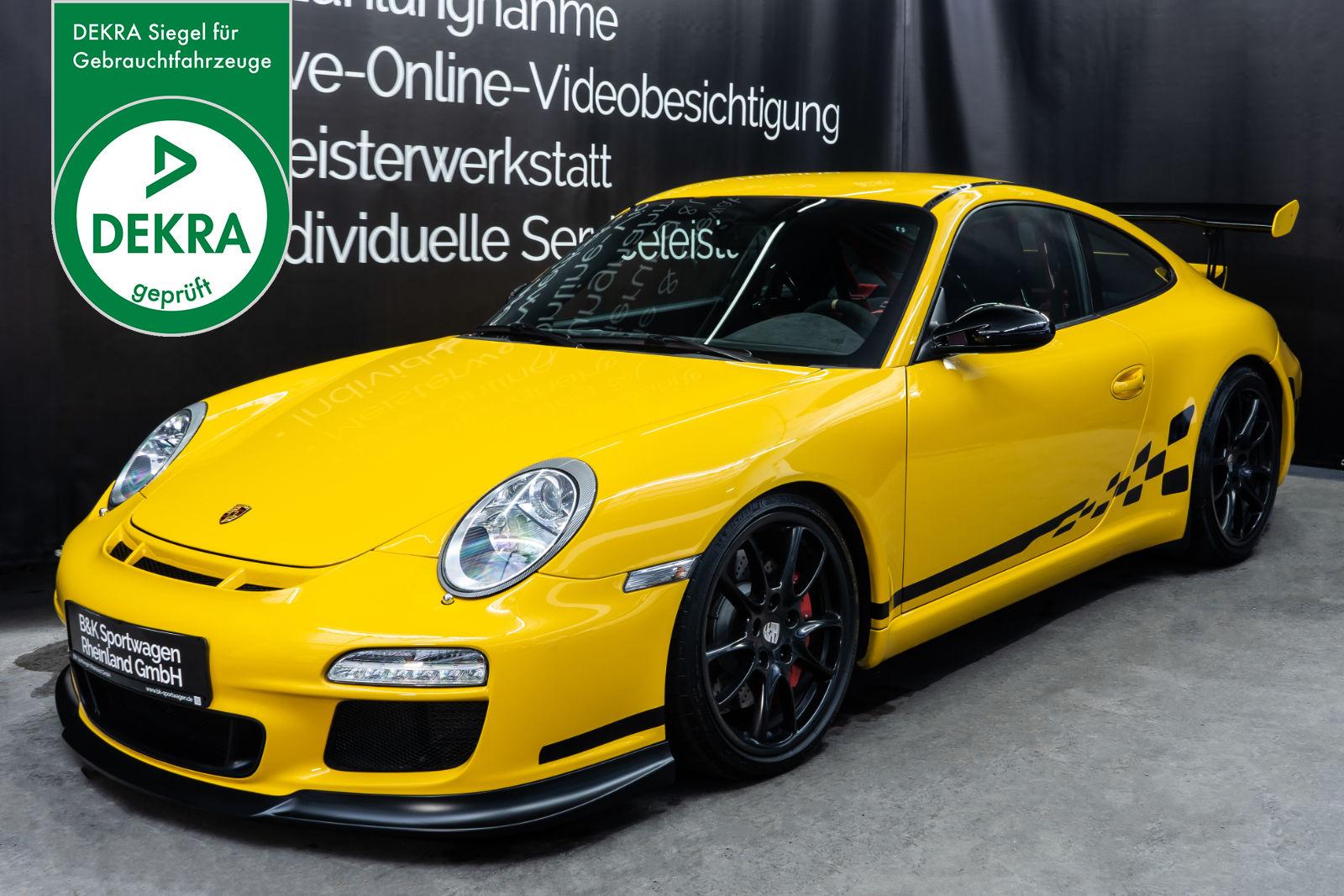 Porsche_997_GT3_Gelb_Schwarz_POR-0766_Plakette_w