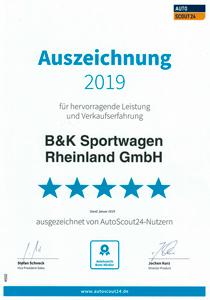 customer satisfaction_b & k_sportwagen_rheinland_gmbh_auszeichnung_autoscout24_mobile_2019