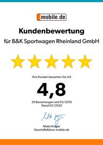 satisfacción del cliente_b & k_sportwagen_rheinland_gmbh_auszeichnung_autoscout24_mobile_5_sterne